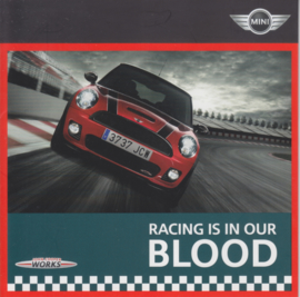 John Cooper Works brochure, 8 small pages, English language, 01/2008 %
