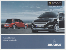 Forfour edition Sportstyle folder, 4 pages, about 2005, German language