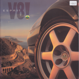 Esprit V8!, 18 pages, factory-issued, circa 1997, English language