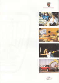 200 Hatchback brochure, 6 pages, A4-size, 2/1997, Dutch language