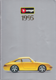 Burago brochure, 76 pages, 1995, English language, A4-size