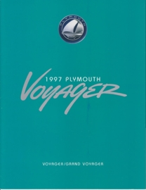 Voyager / Grand Voyager model brochure 1997, 8 pages, 08/1996, USA
