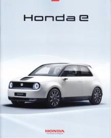 e (electric vehicle) brochure, 12 pages, 21x26 cm, German, 05/2019