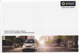 Fortwo Coupe & Cabrio with Brabus brochure,  68 pages, 11/2007, German language