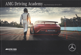 AMG Driving Academy brochure, 52 pages, 11/2015, German/English language