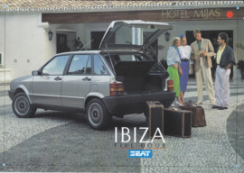 Ibiza 5-Door brochure, 8 pages, English language, 1987