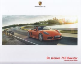 718 Boxster brochure, 60 large pages, 01/2016, hard covers, Dutch