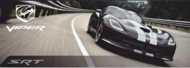 SRT Viper GTS Coupe, 4 page folder, Geneva show 2014, 3 languages, glossy