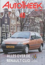 issue # 40, Renault Clio, 32 pages, 2/1991, Dutch language