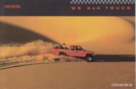 4x4 Pick-up Trucks, US postcard, 1989