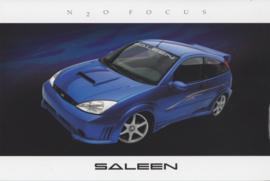 Focus N2O, glossy leaflet, 2003, USA