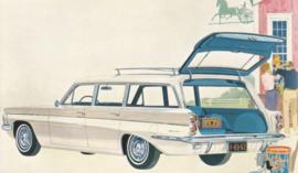 F-85 Station Wagon, US postcard, standard size, 1962