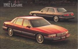 Le Sabre, US postcard, standard size, 1992