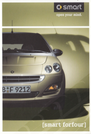 forfour postcard, 16x11 cm, fold-card, 06/2003, Dutch language (Belgium)