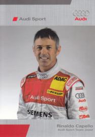 DTM racing driver Rinaldo Capello, unsigned postcard 2005 season, German language