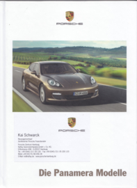 Panamera brochure, 174 pages, 03/2010, hard covers, German