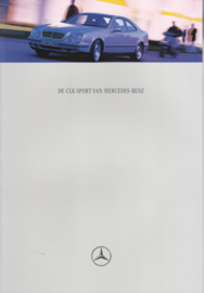 CLK Sport & Elegance brochure. 10 pages, 01/1997, Dutch language