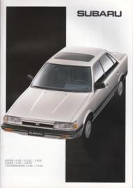 L-Series Sedan/Coupé/Stationwagon brochure, 16 pages, Dutch language, 1988