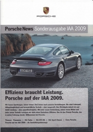 News Special IAA 2009 with 911 Turbo, 24 pages, 09/09, German language