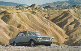 130 Sedan, standard size, Italian postcard (Gros Monti & C.), about 1968