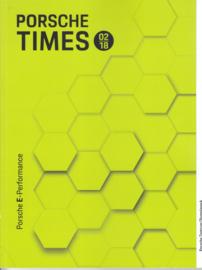 Porsche Times magazine, # 2-2018, 68 pages, PC München Olympiapark