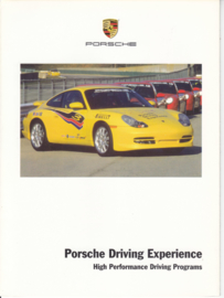 Driving Experience brochure 2001, 8 pages, USA, English
