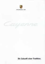 Cayenne introduction folder, 6 pages, 11/2001, German