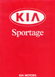Sportage 4x4 brochure, 8 pages, about 1998, Dutch language