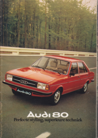 80 Sedan brochure, 26 pages, 08/1976, Dutch language