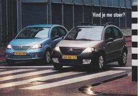 C3 X-TR & C3, Boomerang freecard, A6-size, P09-04, 2004, Dutch