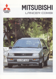 Lancer Combi brochure, 16 pages, 05/1991, German language
