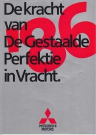 Commercials brochure, 8 pages, 1986, Dutch language