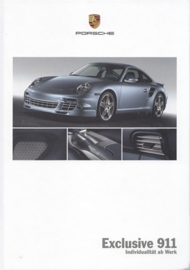 911 Exclusive brochure, 48 pages, 06/2007, hard covers, German