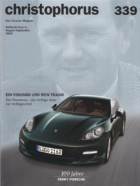 Porsche Christophorus # 339, 100 pages, issue 8/9 2009, German language