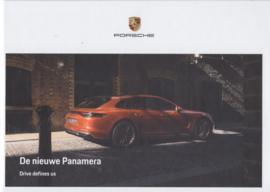 Panamera brochure, 112 pages, 10/2020, Dutch language, hard covers