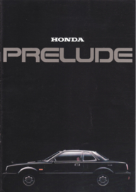 Prelude brochure, 18 pages, A4-size, Dutch, about 1979
