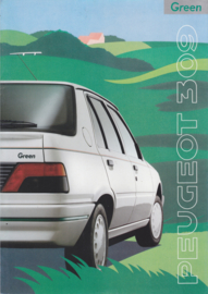 309 Green brochure, 8 pages, A4-size, 1990, French language
