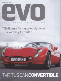 Tuscan Convertible roadtest by EVO magazine, 8 pages, English, about 2005 *