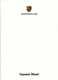 Cayenne Diesel, A6-size set with 6 postcards in white cover, 2009, WSRE 0901 90S0 00