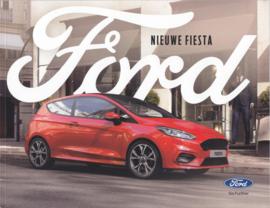 Fiesta new model brochure, 88 pages, 06/2018, Dutch language