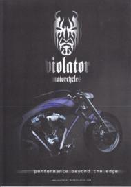 Violator Sinto (Gipsy) leaflet, 2 pages, 2004, Dutch language