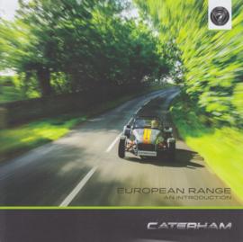 Caterham Seven model range brochure, 6 square pages, 2019, English language