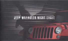 Wrangler Night Eagle brochure, 12 pages, 04/2017, Dutch language