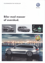 Taxi models brochure, A4-size, 6 pages, 03/2015, Danish language