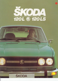120 L/LS Sedan brochure, 8 pages, French language, about 1983
