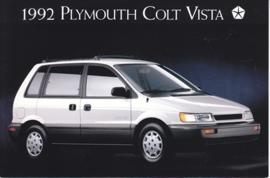 Colt Vista AWD, US postcard, continental size, 1992