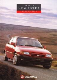 Astra introduction brochure, 8 pages, English language, V10212, 09-1991, UK