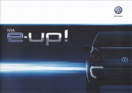 E-up! brochure, A4-size, 24 pages, Swedish language, 10/2013
