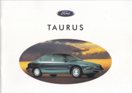 Taurus Sedan & Wagon, 24 pages, Dutch language, about 1996