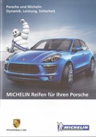 Dunlop tyres for Porsche brochure, 28 pages, about 2015, German language